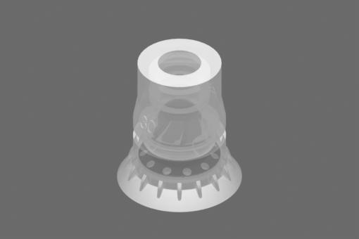 Вакуумна вендуза VG.BPG30, от съвместим с FDA силикон, с твърдост 40 единици по Шор - 2322086