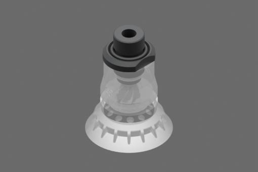 Вакуумна вендуза BPG.48, от съвместим с FDA силикон, с твърдост 40 единици по Шор, G3/8″ външна резба - 2322096