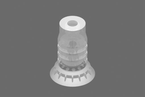 Вакуумна вендуза VG.LPG48, от съвместим с FDA силикон, с твърдост 40 единици по Шор - 2322111