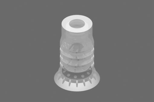 Calotta VG.LPG30 Silicone FDA 40 Shore - 2322103