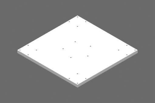 Interface plate - MFT-A009
