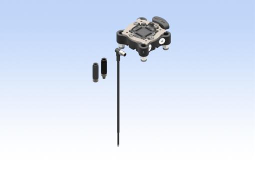 Sada pro robot TM, QC75-A, CMAQC, 8kolíkový úhlový konektor s vnějším závitem, digitální snímač, rovné konektory Ø6 mm (strana A) - KIT-TM-QC75-A