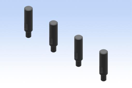 Storage pins for side B, diameter 6 mm - EQC05-K1