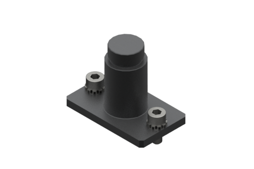 Mounting bracket for gripper SGP-50S, with screws - MFI-A503